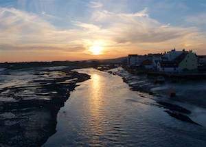 Shoreham Bridge Sunset