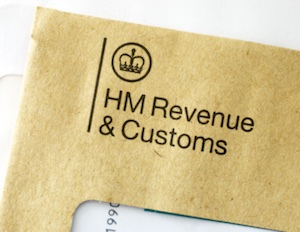 HMRC Envelope 2015